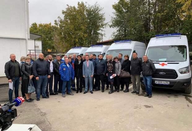 Крым получил 10 новых автомобилей скорой медицинской помощи