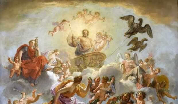 Зевс - древнегреческий верховный Бог неба, грома и молний. - nagualspb.ru