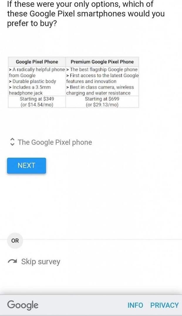 Google Pixel 5 удивит доступной ценой