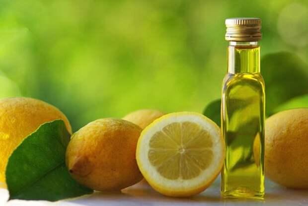Оливковое масло и лимон для красоты ногтей