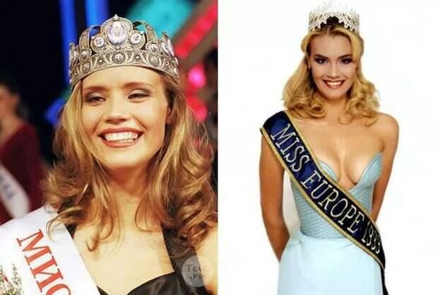 Мисс Россия 1997 и Мисс Европа 1999 - Елена Рогожкина