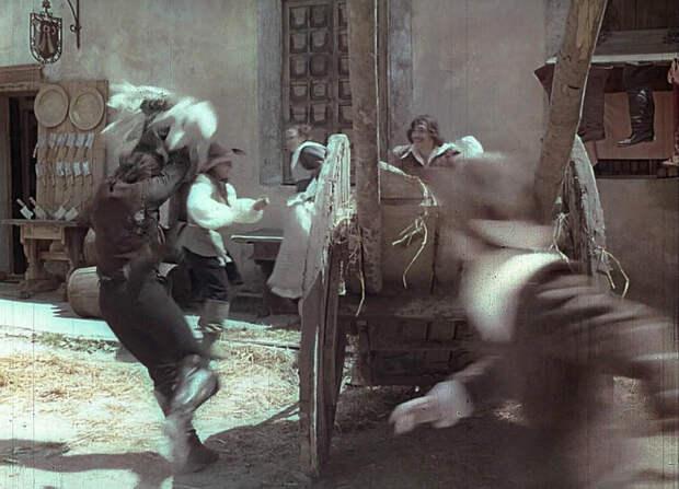 "Вырезанная сцена из ""Д'Артаньян и три мушкетёра"""