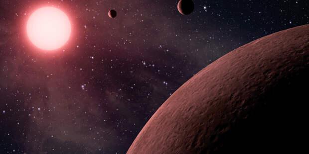 Астрономы впервые обнаружили кандидата в экзопланету за пределами Млечного Пути