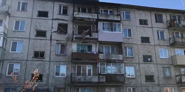 На месте взрыва в квартире во Владивостоке нашли тело мужчины