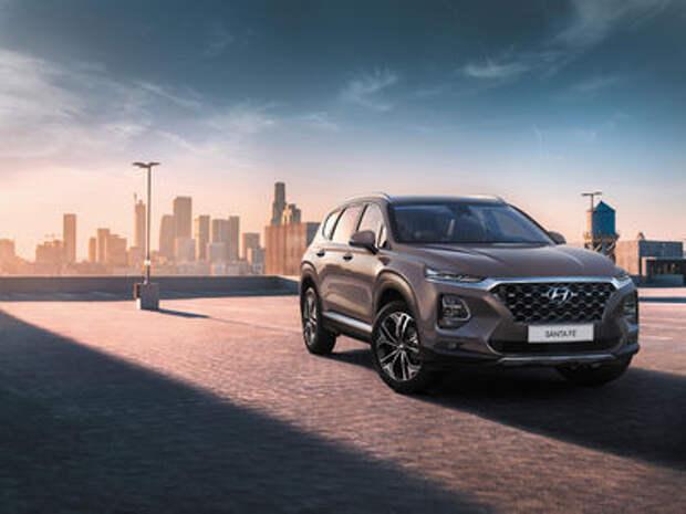 Новый Hyundai Santa Fe: российские цены и комплектаци
