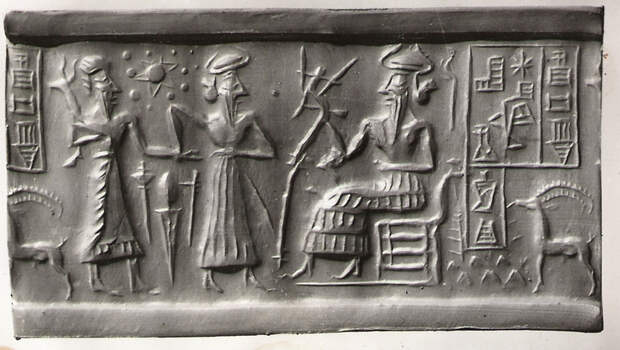 Сведения о контактах с инопланетянами в Древней Месопотамии