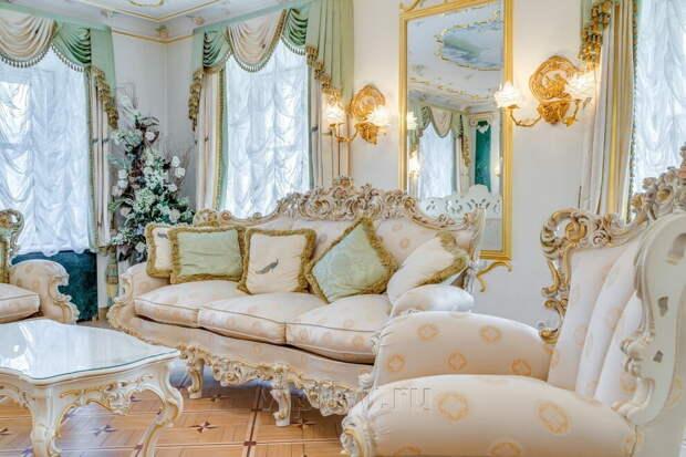 Роскошная мягкая мебель