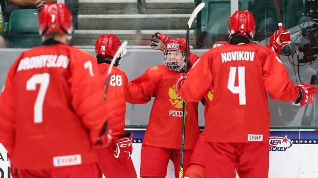 Сборная России сыграет с Белоруссией в четвертьфинале юниорского ЧМ: стали известны все пары 1/4 финала