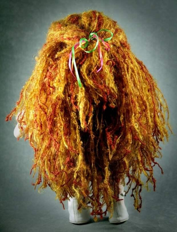 Вальдорфская кукла (волосы). Фото / Waldorf doll. Photo
