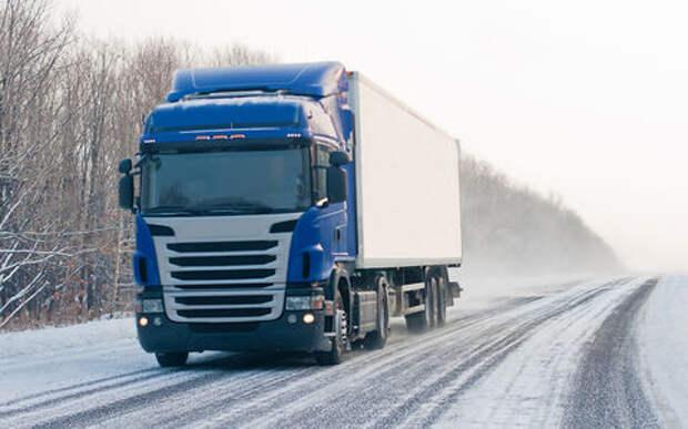 Чиновники хотят оснащать новые грузовики датчиками веса
