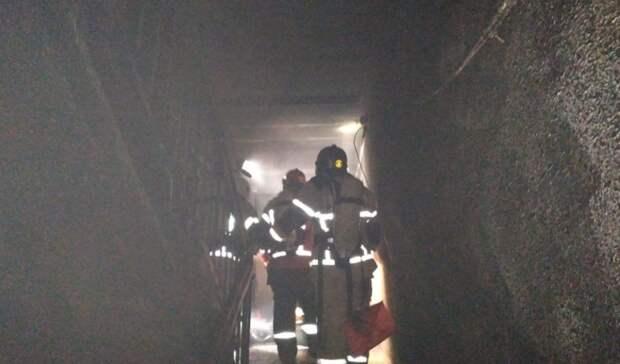 ВЕкатеринбурге ночью при пожаре погибли восемь человек