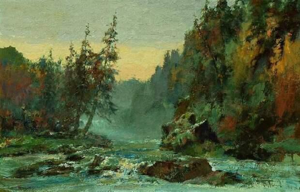 Пейзажи художника Васендина, которого современники называют вторым Шишкиным