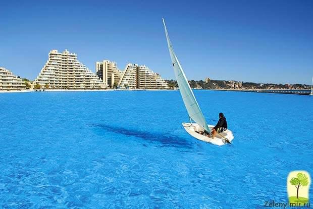 Самый большой бассейн в мире - Сан Альфонсо дель Мар, Чили - 6