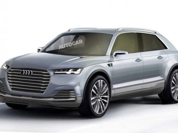 Audi выпустит «стильный Q7» – кроссовер Q8