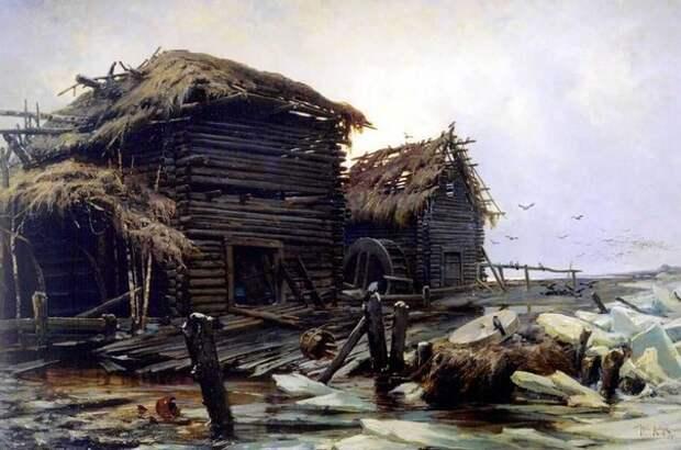 Дореволюционная Россия в картинах Юлия Юльевича Клевера.