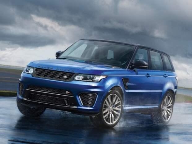 В Лондоне отказываются страховать внедорожники Range Rover