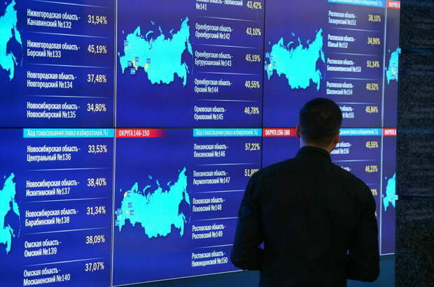 ЦИК обработал 100% протоколов на выборах в Госдуму