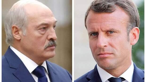 Макрон нарвался на резкий ответ Лукашенко