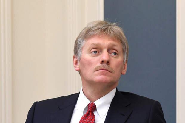Песков назвал последствия санкций США против 35 россиян