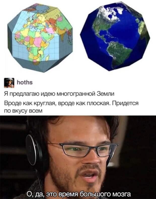 Теория многогранной Земли