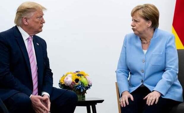 Меркель иШтайнмайер указали виновника штурма Капитолия: «Натравил толпу»