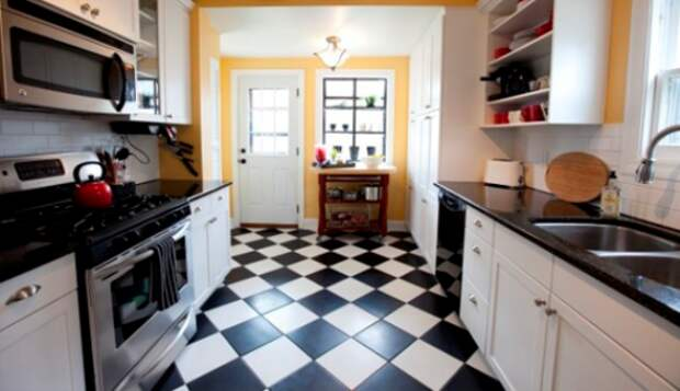 Пол на кухне — какой лучше выбрать