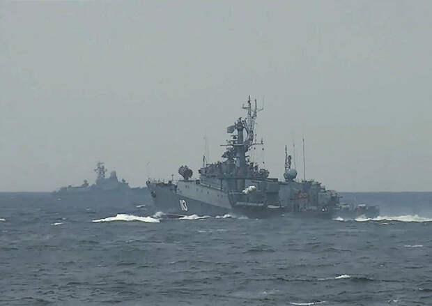 Корабли Северного флота отработали противолодочные задачи в Баренцевом море
