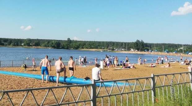 В Красноярском крае открылся второй пляж
