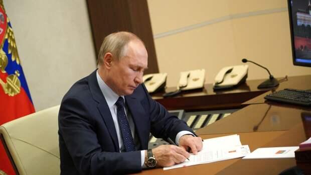 Путин в послании к Федеральному собранию призвал россиян вакцинироваться от коронавируса