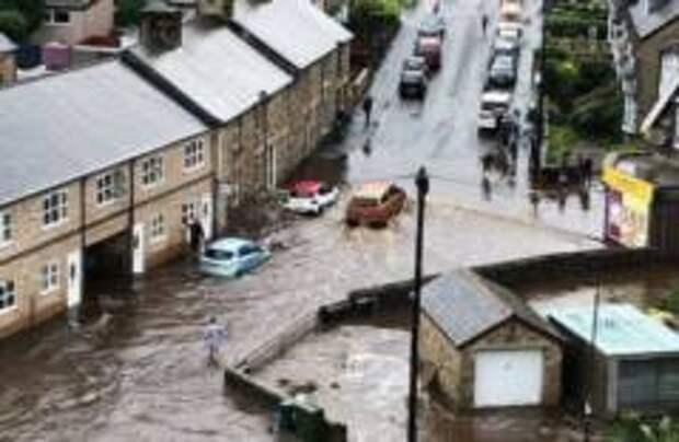 «Большая вода» в Англии