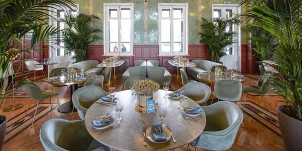 Кафе Gucci в центре Москвы могут закрыть на 90 суток за нарушение антиковидных мер. Фото: Е. Самарин mos.ru
