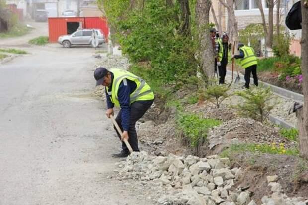 К ремонту улицы Херсонской приступили в Артёме