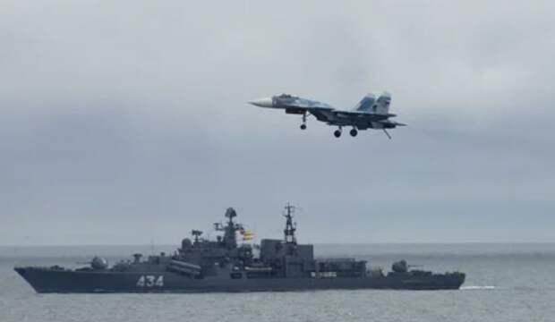 ВКС России и силы Черноморского флота помешали США провести высадку десанта