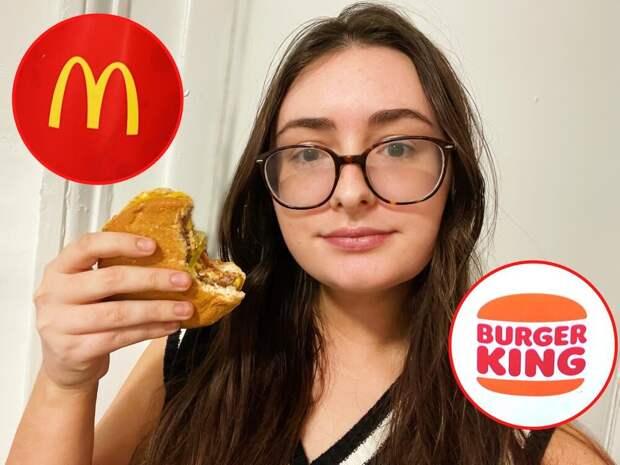 Где вкуснее — в «МакДональдс» или «Бургер Кинг»?