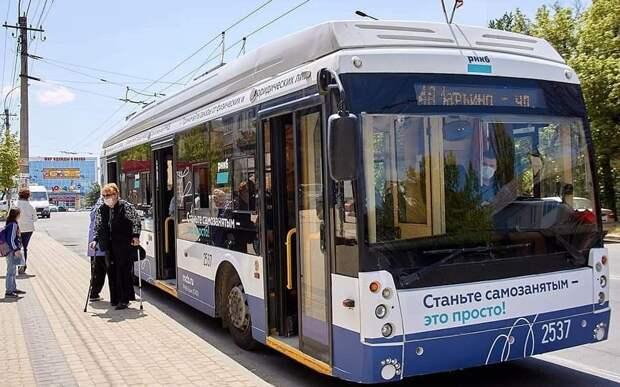 В Симферополе – новый троллейбусный маршрут — №4-А (Марьино – Арабатская)