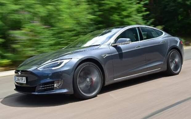 Tesla Model S переходит на гиперускорение