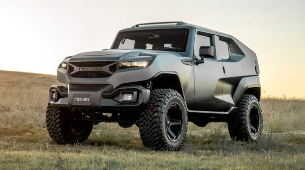В Сети появились снимки новой модели молодого американского производителя Bollinger B1, Rezvani Motors Tank, Tj Cruiser, авто