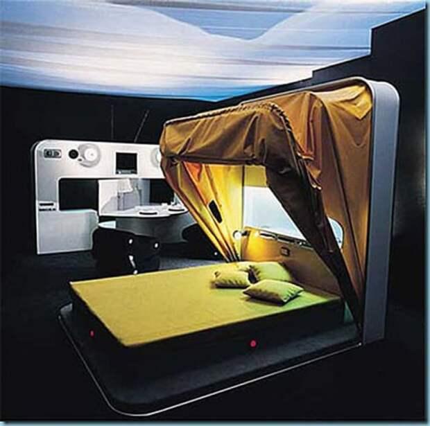 Интересная задумка для кровати. /Фото: lh3.googleusercontent.com