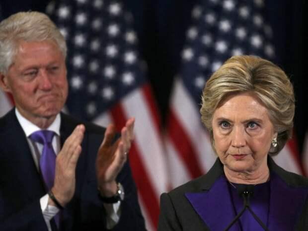 СМИ: после 41 года брака Хиллари Клинтон решила развестись