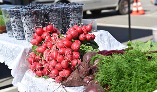 Сезонная ярмарка фермерской продукции будет работать в центре Хабаровска по выходным