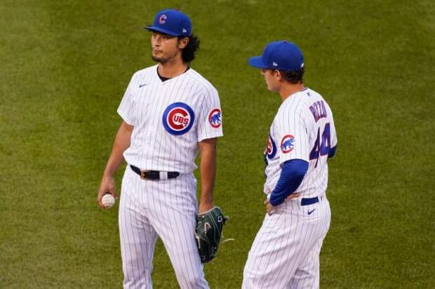 Yu Darvish Stealing Anthony Rizzo's Walk-Up Song In His First At-Bat Against His Former Team Is Friendship Goals