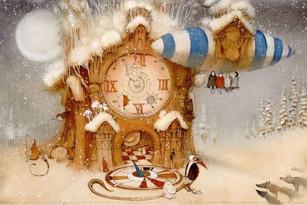 Как добрый сюрреалист совершил переворот в книгоиздании: Звезда российской иллюстрации Кирилл Чёлушкин