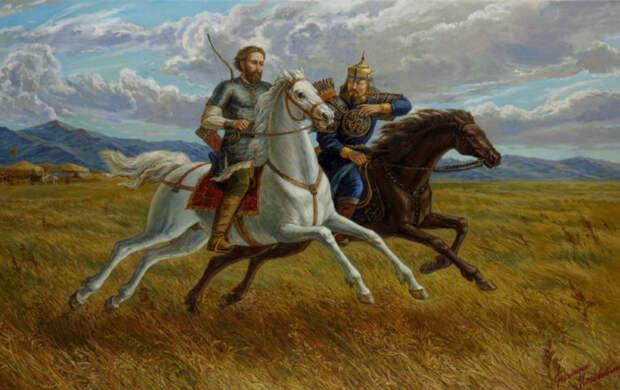 Древняя Русь в сочинениях Льва Гумилёва