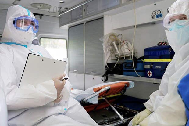 За сутки в России выявили 5529 заражённых коронавирусом