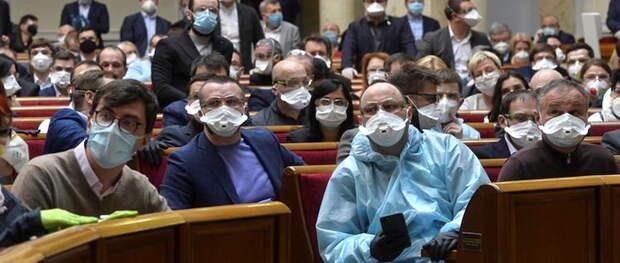 Коронавирус безжалостно косит депутатов Верховной рады