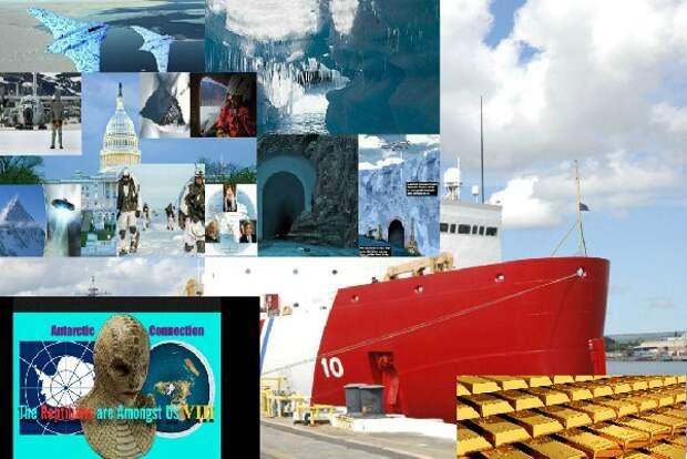 Тайна Антарктиды: Кому в Антарктиду доставляют золото? Золотая дань?
