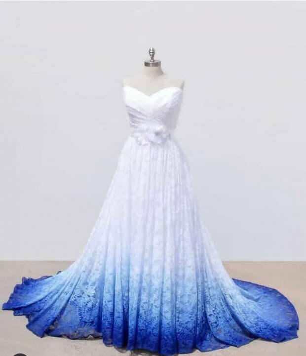 """""""Пачкаем"""" свадебные платья (подборка)"""
