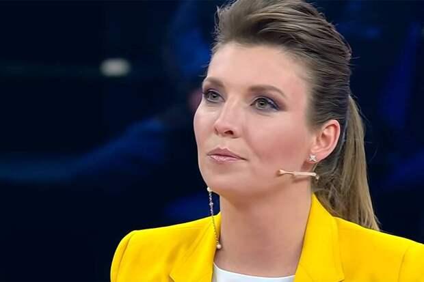 «Заберите микрофон!»: Скабеева назвала ошибку политтехнологов Тихановской