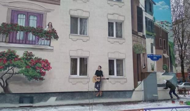 В Белгородской области в 2021 году на домах нарисуют 15 муралов