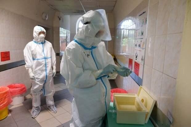 Рост заболеваемости коронавирусом отмечен в пяти регионах Крыма